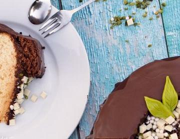 Chocolate Drop Banana Cake