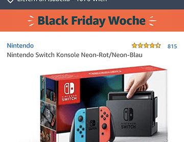 Nintendo Switch für die ganze WG