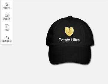Potato Ultra Cap. Für den oder die Glückliche bei unserem Potato-Gang Weihnachts-Wichteln.
