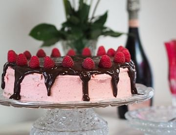 Himbeerbuttercreme Torte
