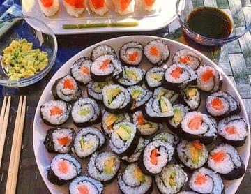 ? Selfmade Sushi for Japan