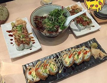 meine zeit ist sushi zeit