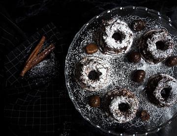 Saftige Mini Lebkuchen Gugls