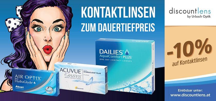 -10% auf Kontaktlinsen