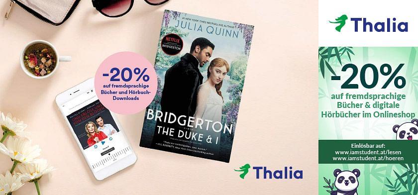 20% Rabatt auf fremdsprachige Bücher & digitale Hörbücher im Onlineshop