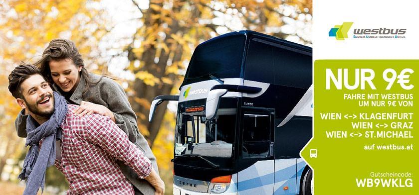 um 9€ mit Westbus fahren
