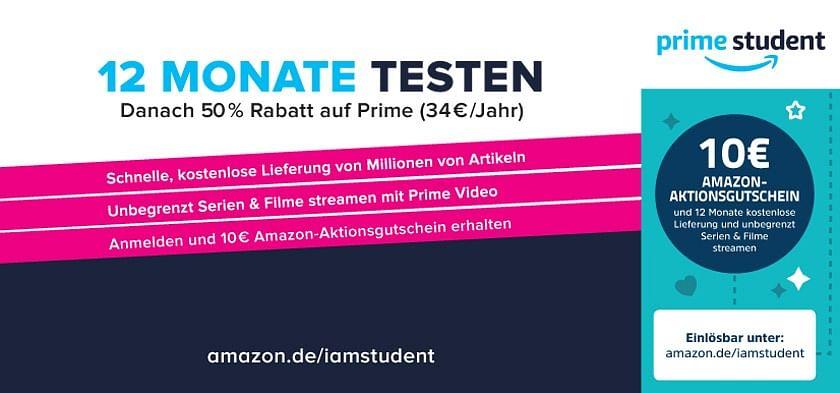 10€ Amazon Aktionsgutschein
