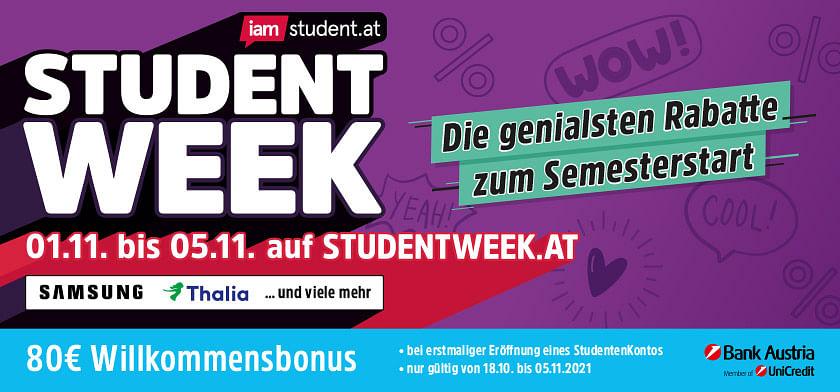 Student Week WiSe 2021