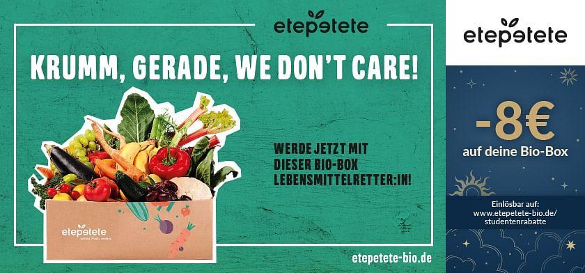 8€ Rabatt auf deine Bio-Box