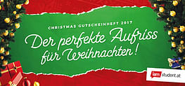 Weihnachtsgutscheinheft 2017
