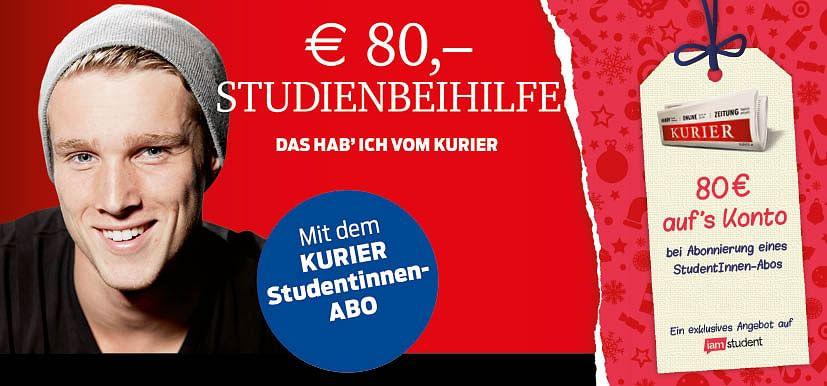 80€ Studienbeihilfe