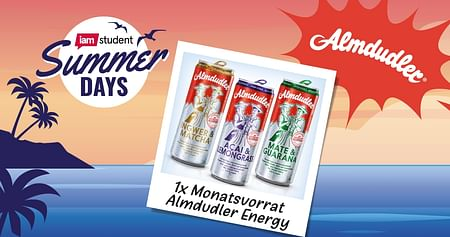 1x Monatsvorrat Almdudler Energy à 24 Dosen