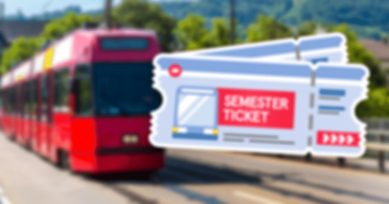 2x1 Semesterticket für das WiSe 2020