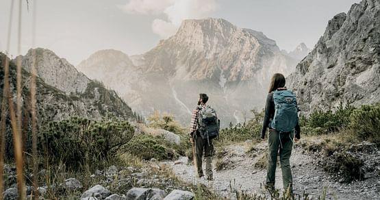 Wanderung im Nationalpark Gesäuse