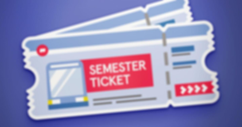 4x1 Semesterticket für das SoSe18