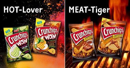 GEWINNE 10x1 Crunchips Snackpaket