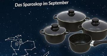 Gewinne 6x1 Kochtopfset von Möbelix!