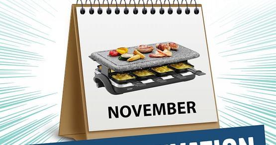 Gewinne 3x1 Raclette-Grill von Möbelix!