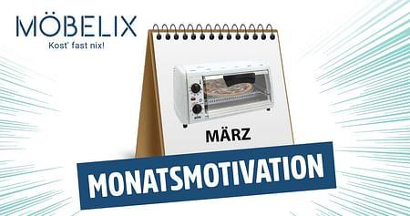 Gewinne 4x1 Minibackofen von Möbelix!