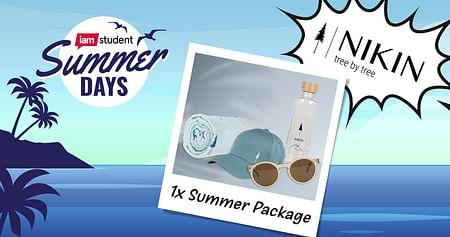Gewinne ein Summer Package von NIKIN