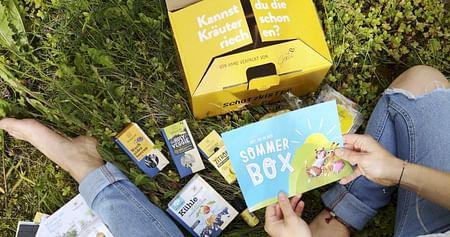 Gewinne 2x1 SONNENTOR-Sommerbox