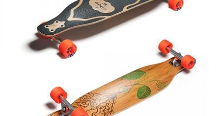 1x Longboard Loaded Fattail
