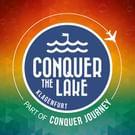 Conquer the Lake Logo