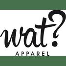 wat? Apparel Logo