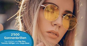 -12% auf Marken-Sonnenbrillen!