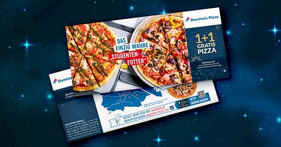 Hangry? Lass dir von Domino's berühmter Pizza den Tag retten! Mit dem Domino