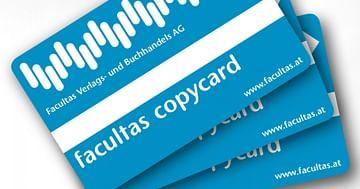 Unsere Facultas Copy Chip-Card für die WU Wien