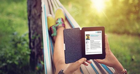 Dank getAbstract stellt die Liste deiner Sachliteratur ab heute kein Hindernis mehr dar: Studierendeerhalten kostenlos Online-Zugriff auf 5.000 Abstracts und können diese in 10 Minuten lesen oder ganz bequem anhören!