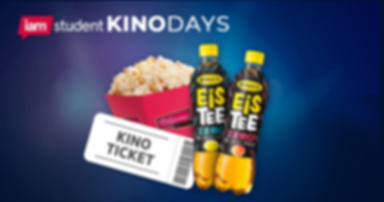 Kinoticket inkl. Popcorn und Eistee für nur 7€