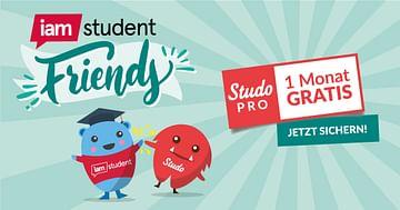 iamstudent friends: Freunde einladen und Bonus sichern!