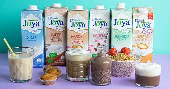 JOYA hat alles, was das Milchalternative-Herz begehrt! Leckere Drinks, Cuisines & Desserts in Mandel-, Soja-, Reis-, Hafer- oder Kokosvariante. Sichere dir jetzt mit unserem JOYA Studentenrabatt -15% auf alle pflanzlichen Milchalternativen.
