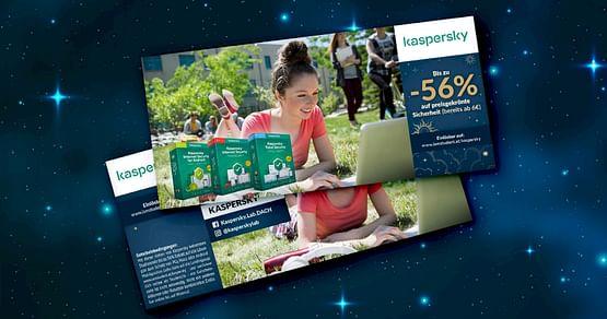 Schütze deinen PC, deinen Mac oder dein Android-Smartphone ganz simpel! Mit dem Kaspersky Lab Studentenrabatt aus unserem Gutscheinheft kannst du bereits ab dem günstigsten Modell bis zu 56% auf die preisgekrönten Sicherheitslösungen sparen.