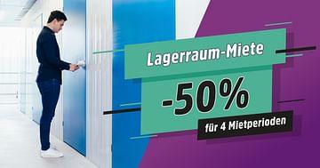 50% Rabatt auf Lagerraum-Miete bei der STUDENT WEEK Aktion von MyPlace!
