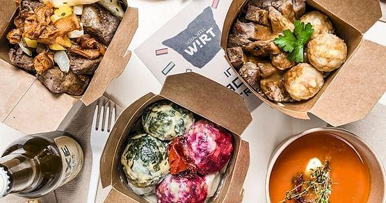 Wien isst unterwegs. Traditionelle österreichische Küche zum Mitnehmen gibt