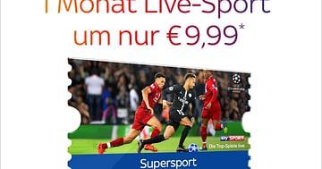 Dein Programm? Bester Live-Sport!