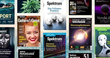 Spektrum der Wissenschaftsteht für ausgezeichnete Artikel aus Naturwissenschaft, Forschung, Technologie & Co.Mit unserem Spektrum der Wissenschaft Gutschein erhältst du33% Studentenrabattund bleibst auf dem neuesten Stand der Forschung!