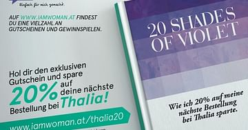 20 Shades of Violet! 20% bei Thalia!