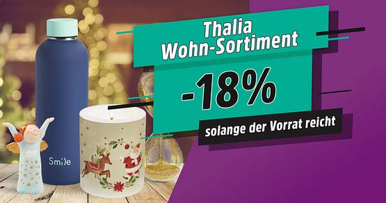 -18% auf Wohnen-Sortiment