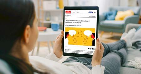 The Economist steht für eine ausgewogene Berichterstattung sowie den Blick auf das große Ganze.Mit dem The Economist Studentenrabatt sicherst du dirdas englische Magazin jetzt entweder für 12 Wochen oder für ein Jahr lang um -50%!
